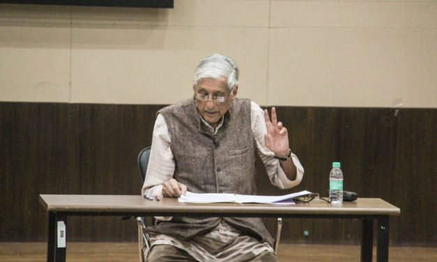 Indira Foundation Lectures by Prof Rajmohan Gandhi