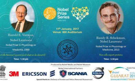 Nobel Laureates Visit IITGN