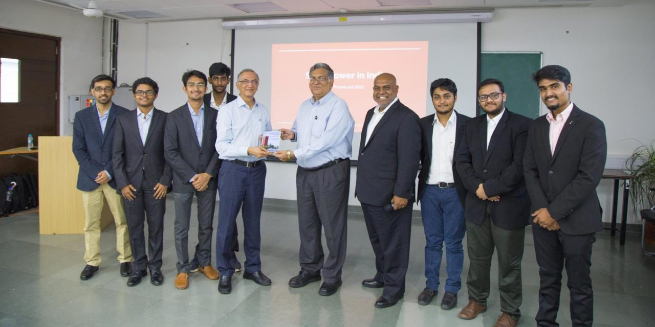 """book launch: """"Solar Power in India: Past, Present and 2022"""""""