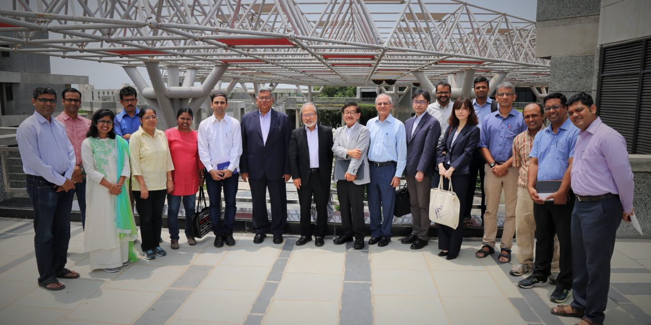 IITGN and JAIST hold hands to promote research