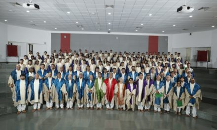 Yet another beginning for 328 students as they bid adieu to IITGN
