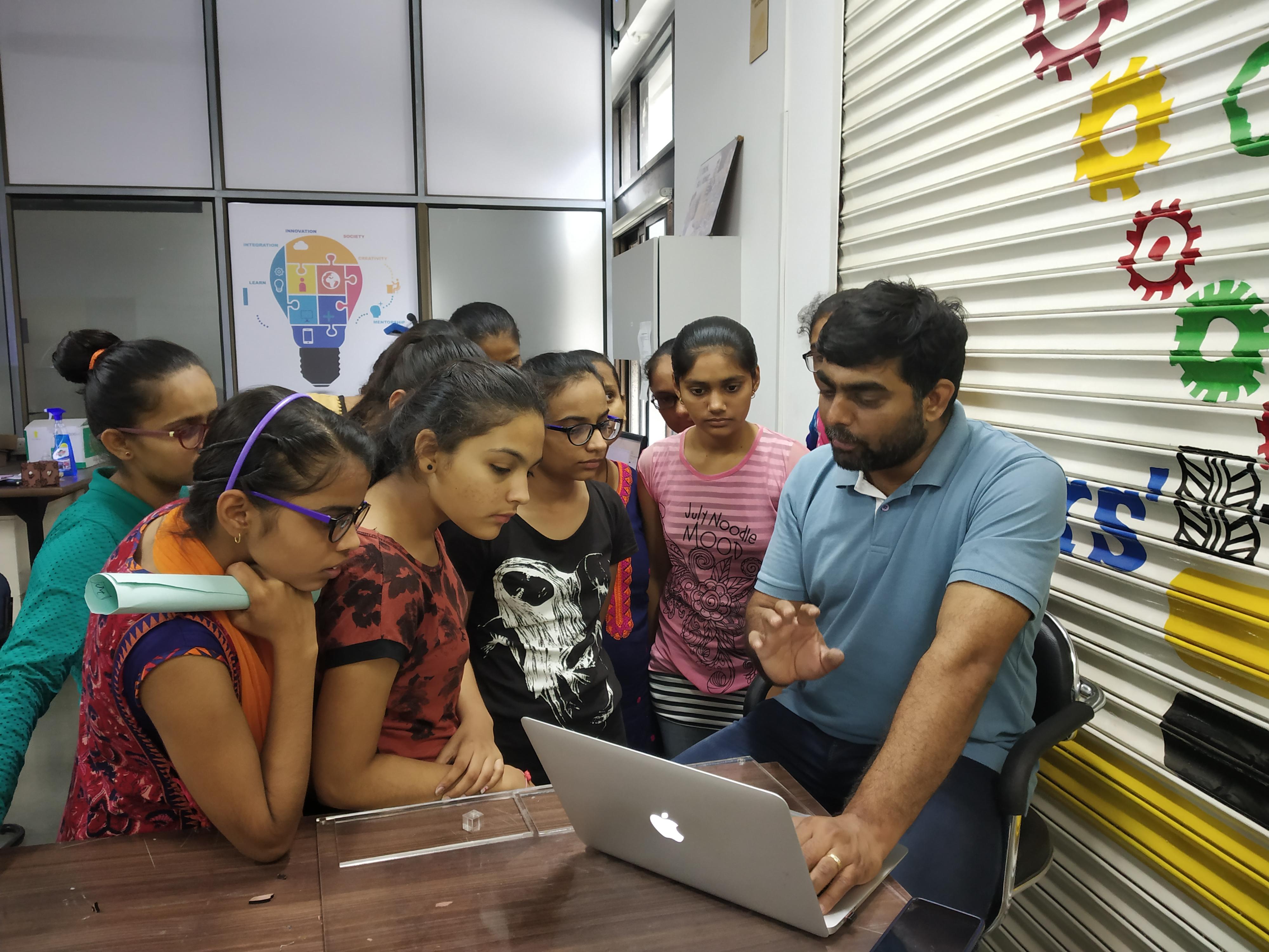 Girls understanding the design aspects