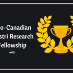 Indo-Canadian Shastri Research Fellowship to PhD student