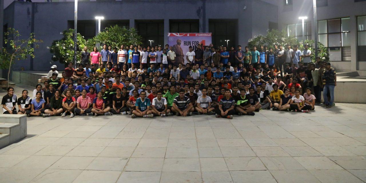 IITGN organized 'Run for Unity', pays tribute to Shri Sardar Vallabhbhai Patel