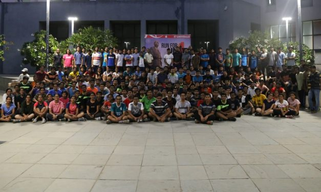 IITGN organized 'Run for Unity', pays tribute to Shri Sardar Vallabhbhai Patel