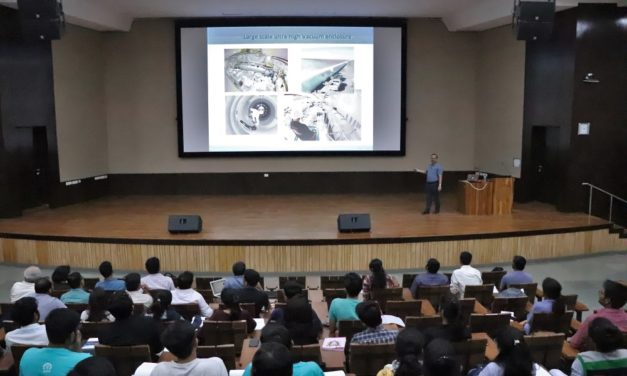 Symposium on 'Frontier Problems in Physics' at IITGN