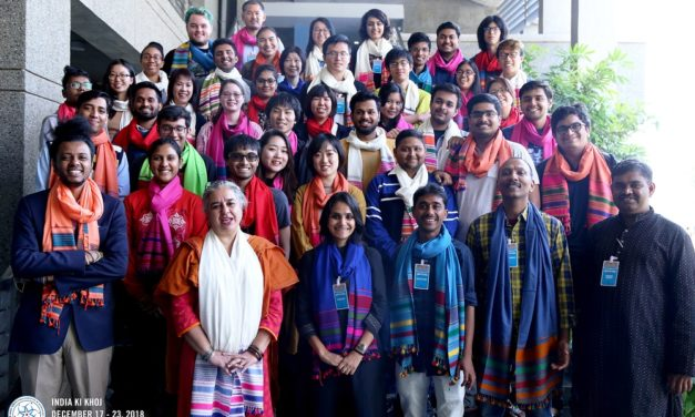 """Students from Caltech, JAIST and IITGN immerse in """"India ki Khoj"""""""