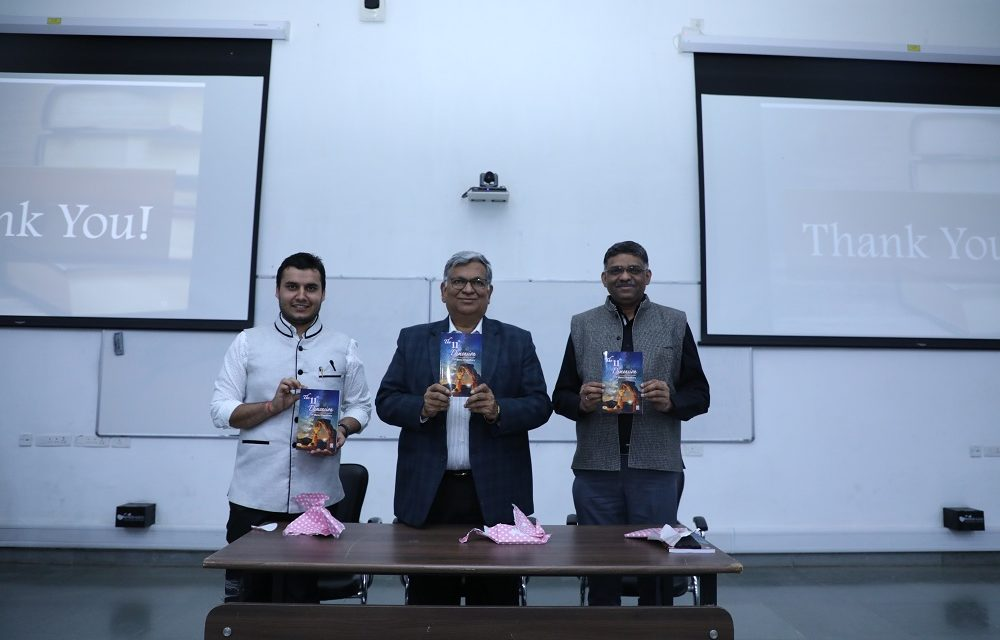 IITGN alumnus publishes book: The 11th Dimension