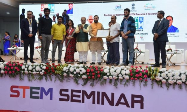 CCL receives first prize at Vibrant Gujarat STEM Conference
