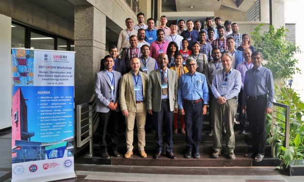 IITGN organised DST-UKIERI workshop on smart energy systems